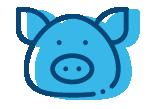 icono activado - maquinaria industria porcina